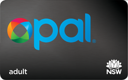 adult opal card