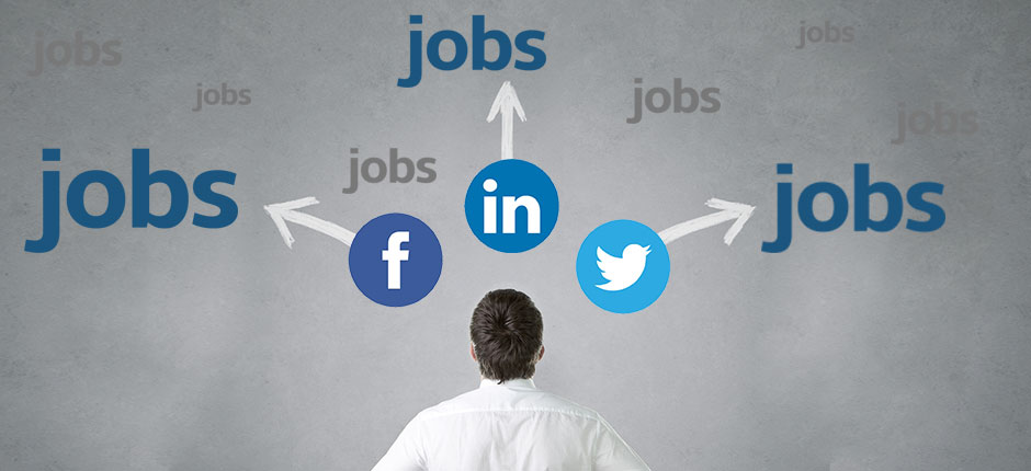 Finding jobs through social media