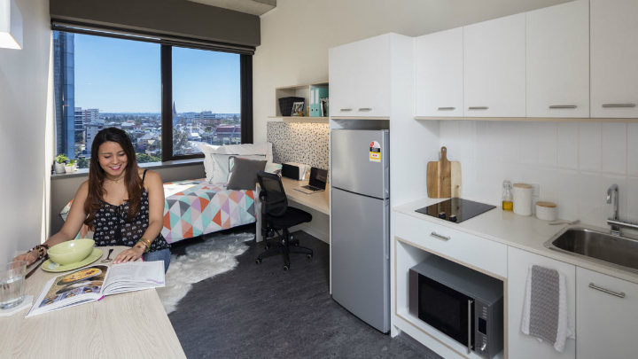 studio apartment for students